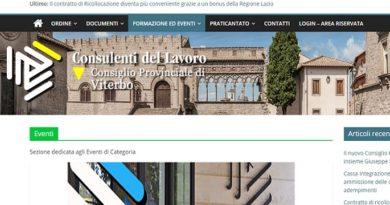 Nuovo sito web CdL VT