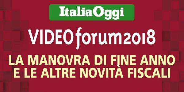 Videoforum ItaliaOggi