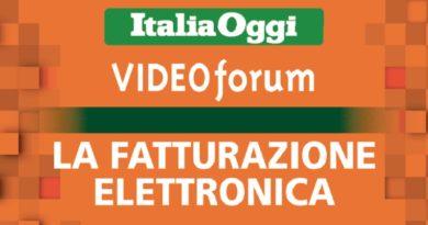 VideoForum ItaliaOggi Fatturazione Elettronica
