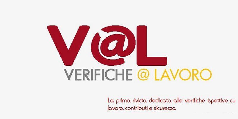 V@L Verifiche e Lavoro Rivista